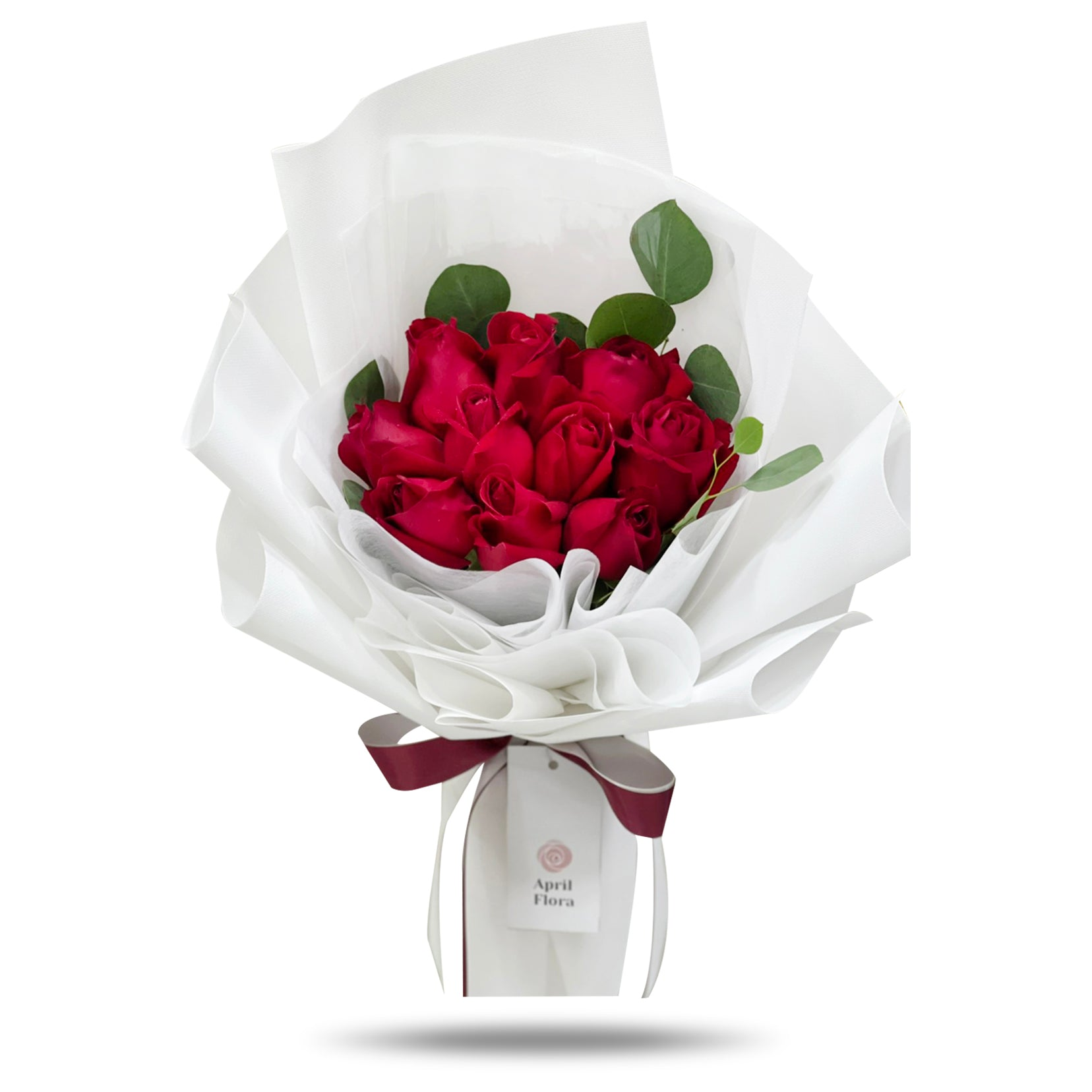 """Classic Red"" Roses Bouquet"