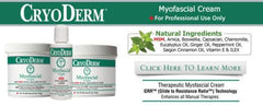 CryoDerm Myofascial Products