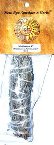 "4"" Meditation Smudge Stick"