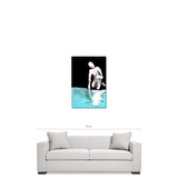 NARCISSUS, Premium Canvas Print of original painting by Jack Larson. FREE SHIPPING