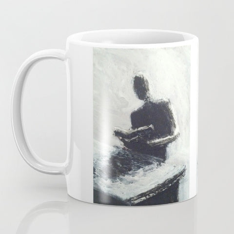 REFLECTIVE,  a coffee mug with art by Jack Larson