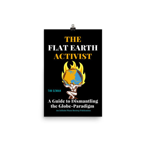 THE FLAT EARTH ACTIVIST COVER ART, POSTER PRINT
