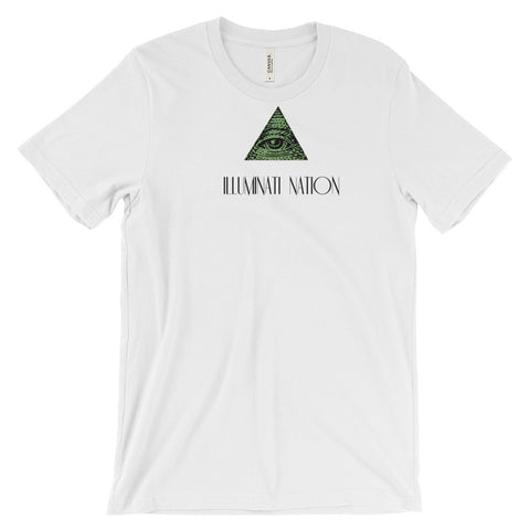 ILLUMINATI NATION ,  Unisex short sleeve t-shirt