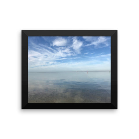 Framed photo paper poster, by Phillip Kokesh