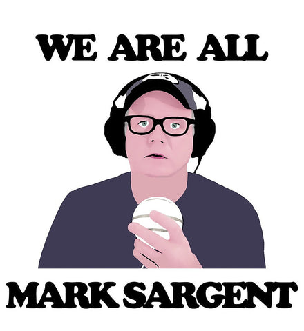 "WE ARE ALL MARK SARGENT Poster (16.4"" X 17.9"") BY ""FASE"""