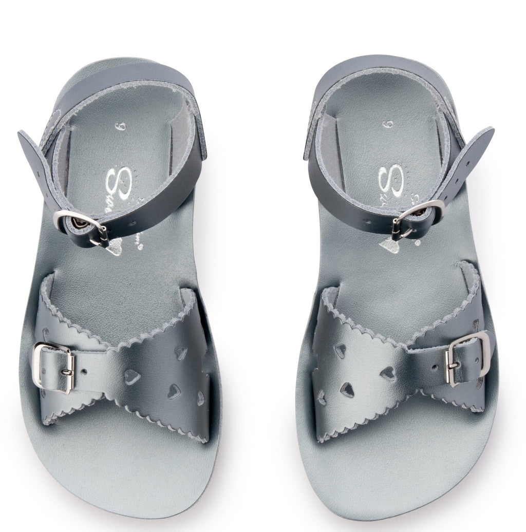 Salt Water Sandals Sun-San Sweetheart Pewter