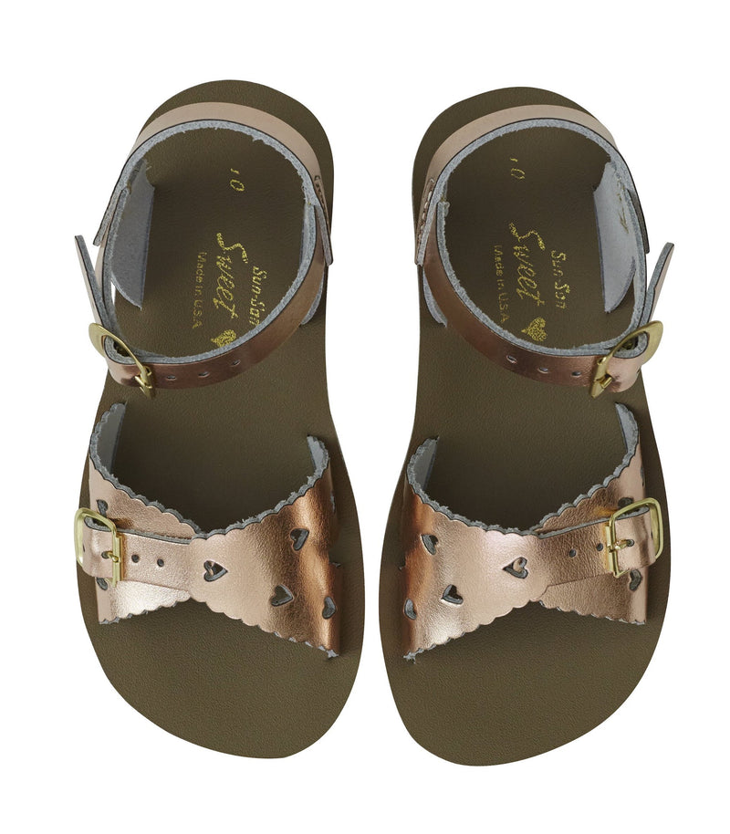 Salt Water Sandals Sun-San Sweetheart Rose Gold