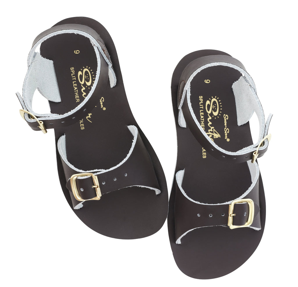 Salt Water Sandals Sun-San Surfer Brown