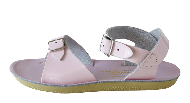 Salt Water Sandals Sun-San Surfer Shiny Pink