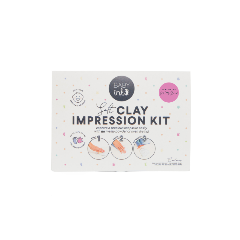 Babyink Soft Clay Impression Kit