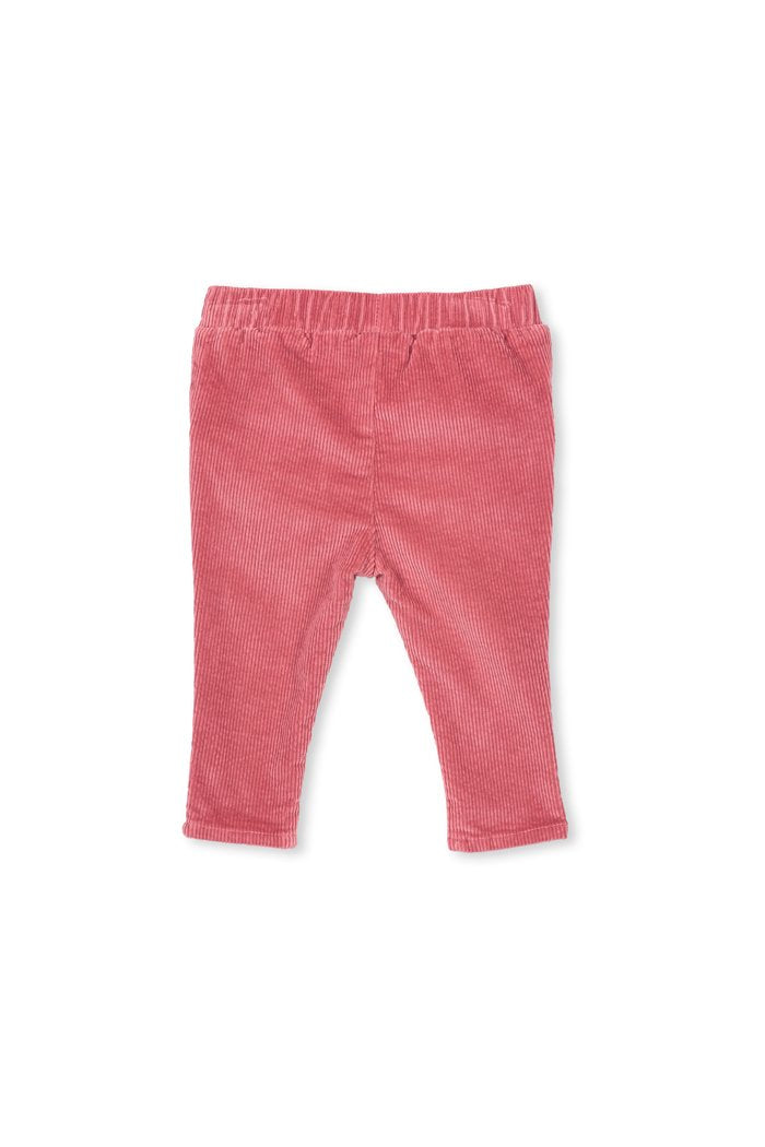 Milky Baby Pink Cord Jeans - Rose Cord
