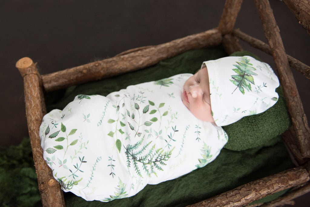 Snuggle Hunny Kids Snuggle Swaddle & Beanie Set - Enchanted