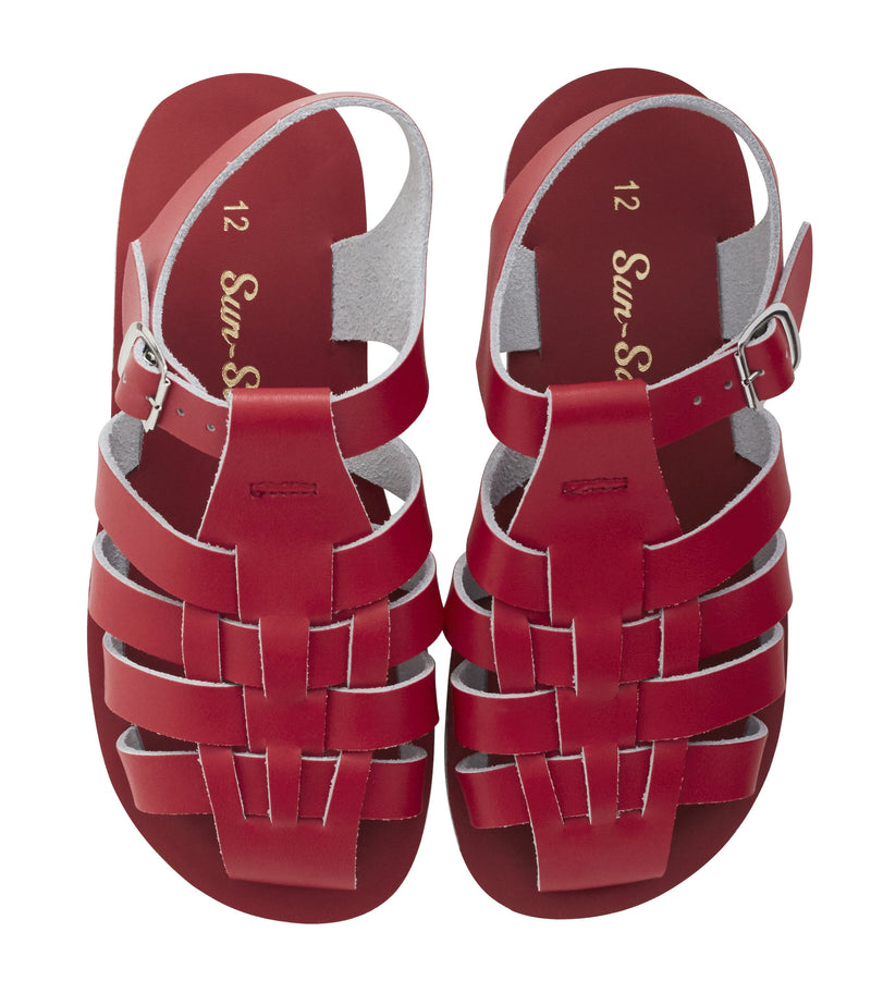 Salt Water Sandals Sun-San Sailor Red