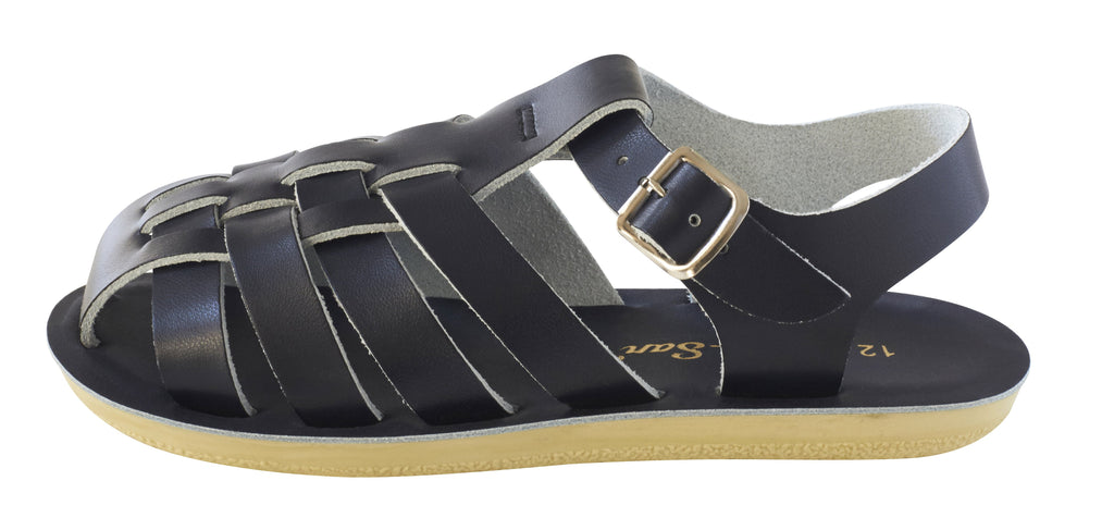 Salt Water Sandals Sun-San Sailor Black