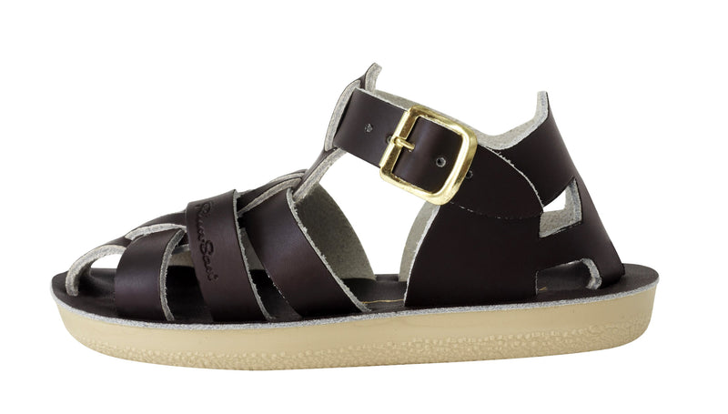 Salt Water Sandals Sun-San Shark Brown