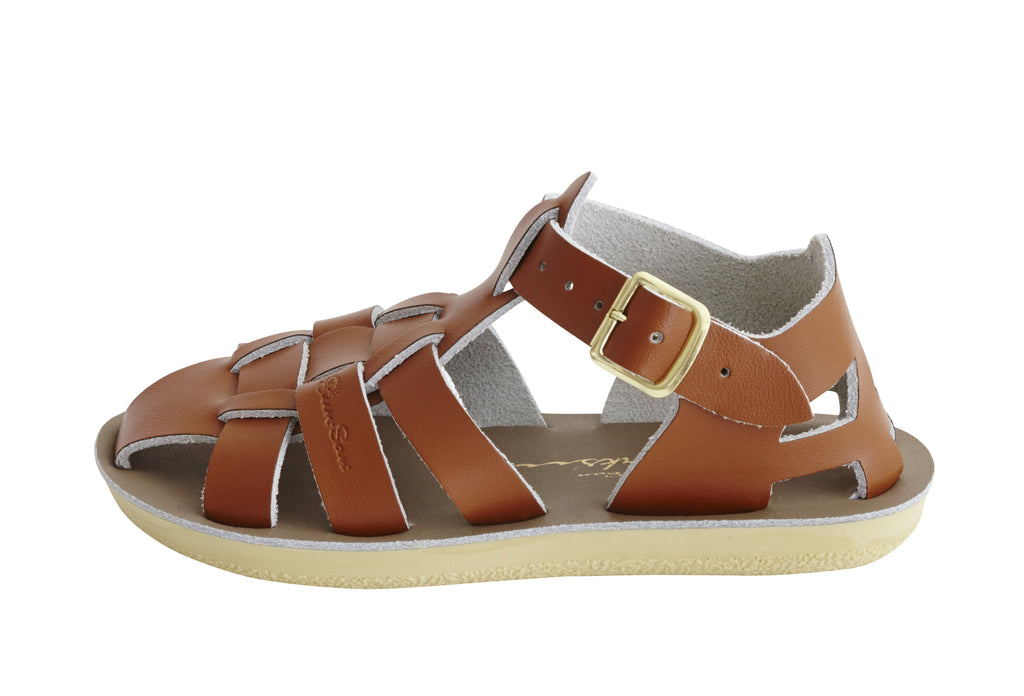 Salt Water Sandals Sun-San Shark Tan