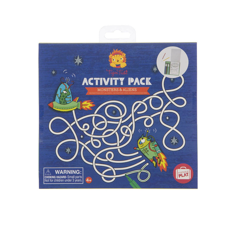 Tiger Tribe Activity Pack - Monsters And Aliens