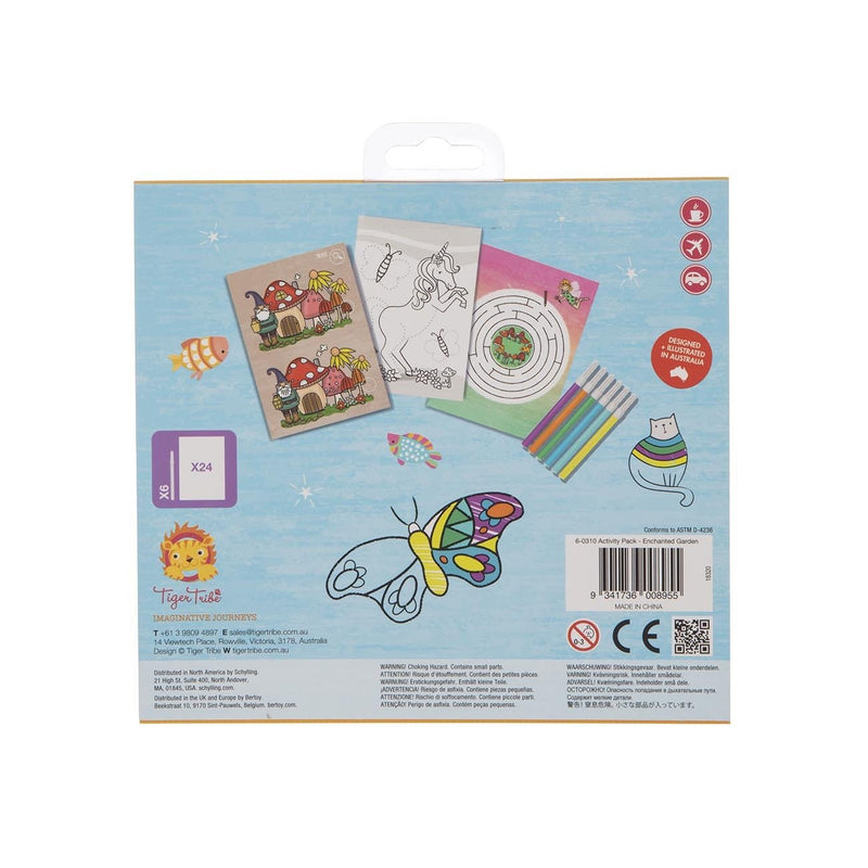 Tiger Tribe Activity Pack - Enchanted Garden