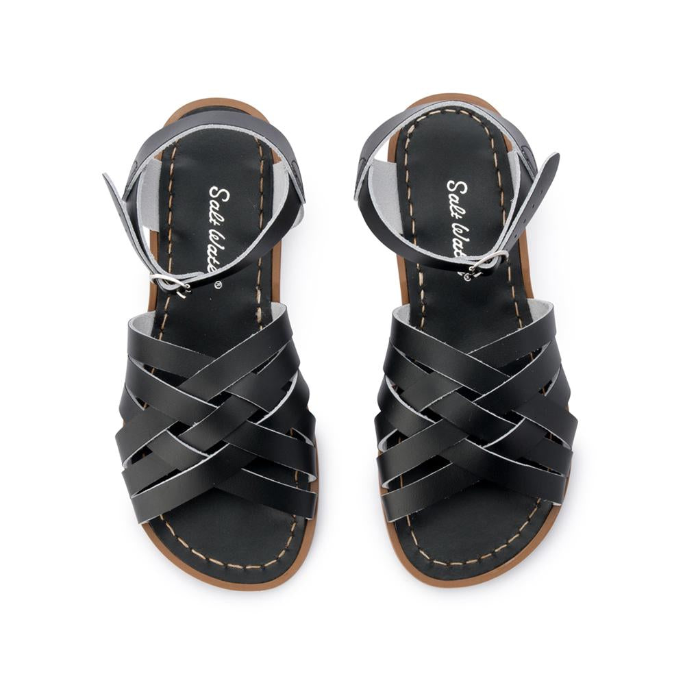 Salt Water Sandals Retro Black