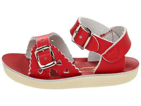 Salt Water Sandals Sun-San Sweetheart Red