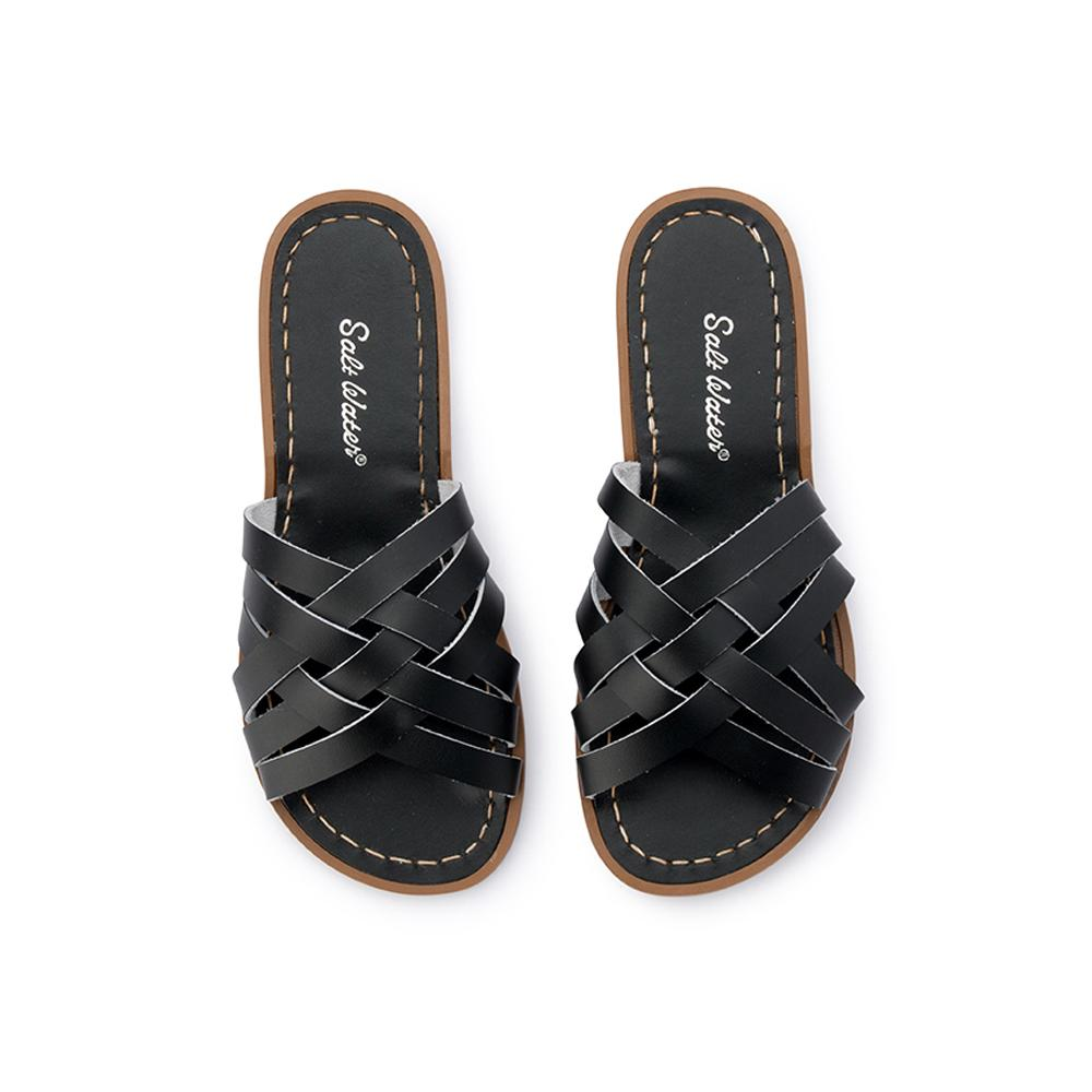 Salt Water Sandals Retro Slide Black