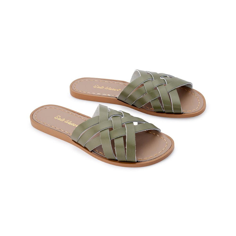 Salt Water Sandals Retro Slide Olive