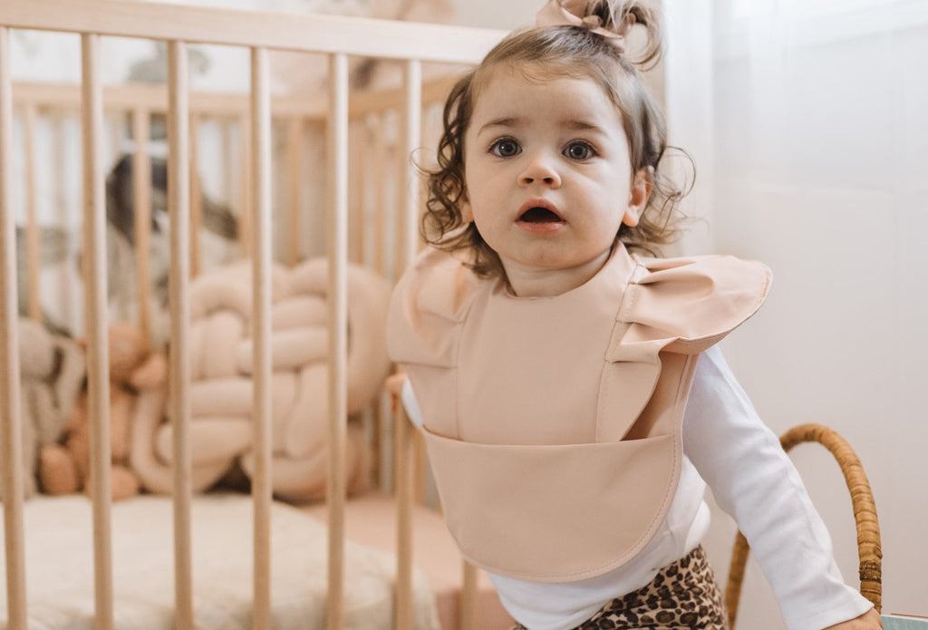 Snuggle Hunny Kids Snuggle Bib Waterproof- Nude