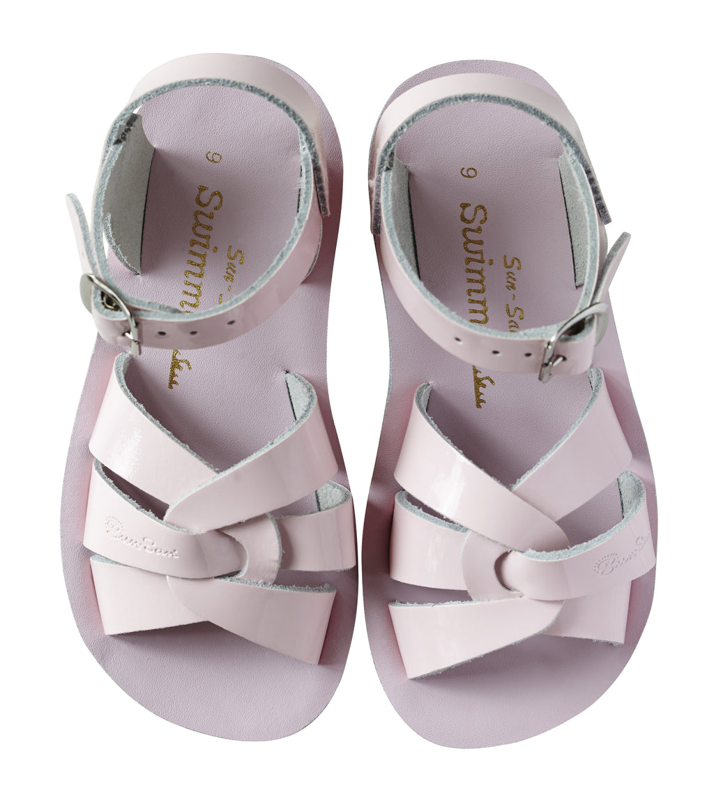 Salt Water Sandals Sun-San Swimmer Shiny Pink