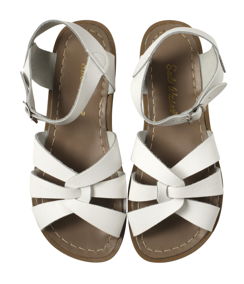 Salt Water Sandals Originals White