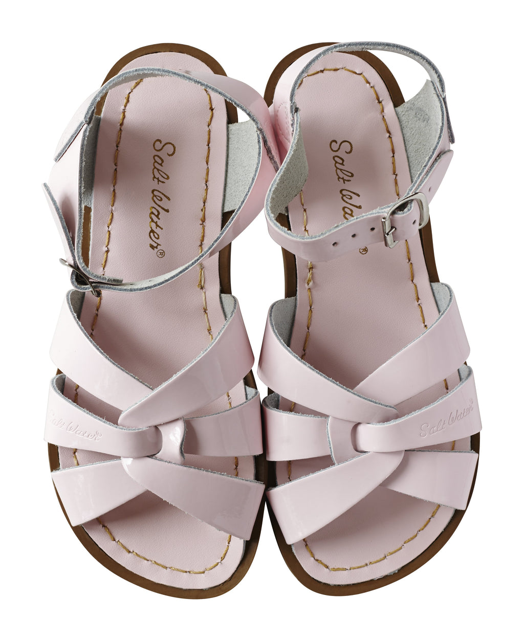 Salt Water Sandals Originals Shiny Pink