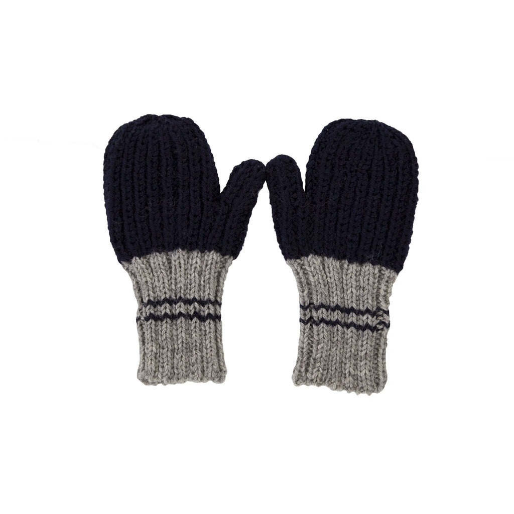 Acorn Kids Campside Ribbed Mittens - Navy