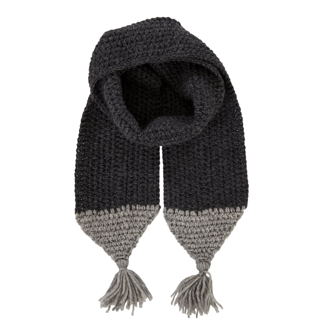 Acorn Kids Campside Scarf - Charcoal