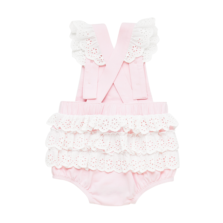 Rock Your Baby Unicorn Garden Lace Romper