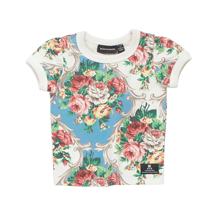 Rock Your Baby French Chintz SS Baby T-Shirt