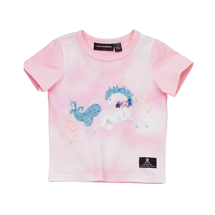 Rock Your Baby Sparkle SS Baby T-Shirt