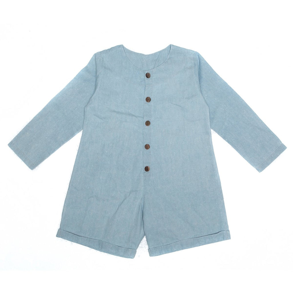 Alex & Ant Chase Playsuit - Soft Egg Blue