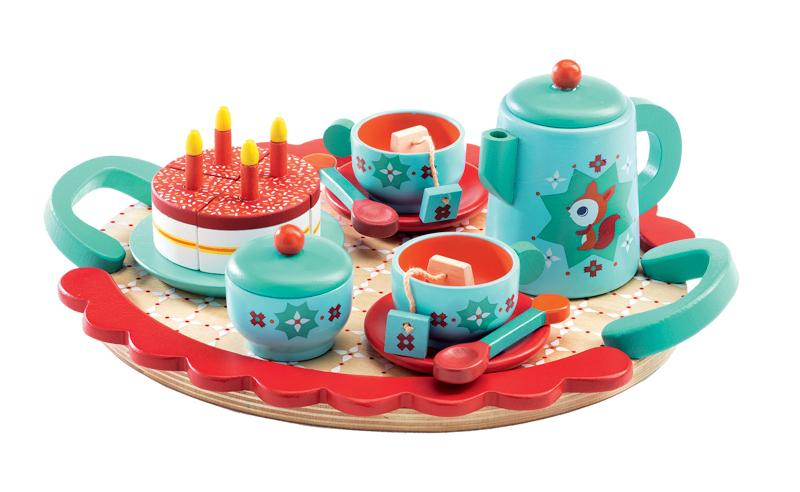 Djeco Fox's Tea Party Set