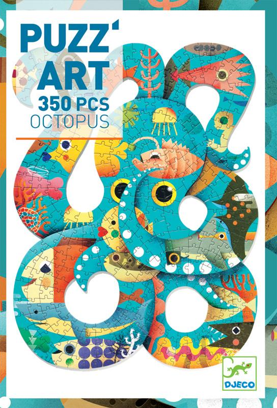 Djeco Art Puzzle - Octopus 350pc