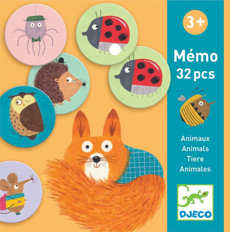 Djeco Animals Memo