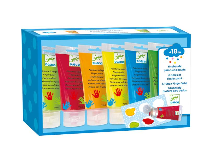 Djeco Finger Paint Tubes