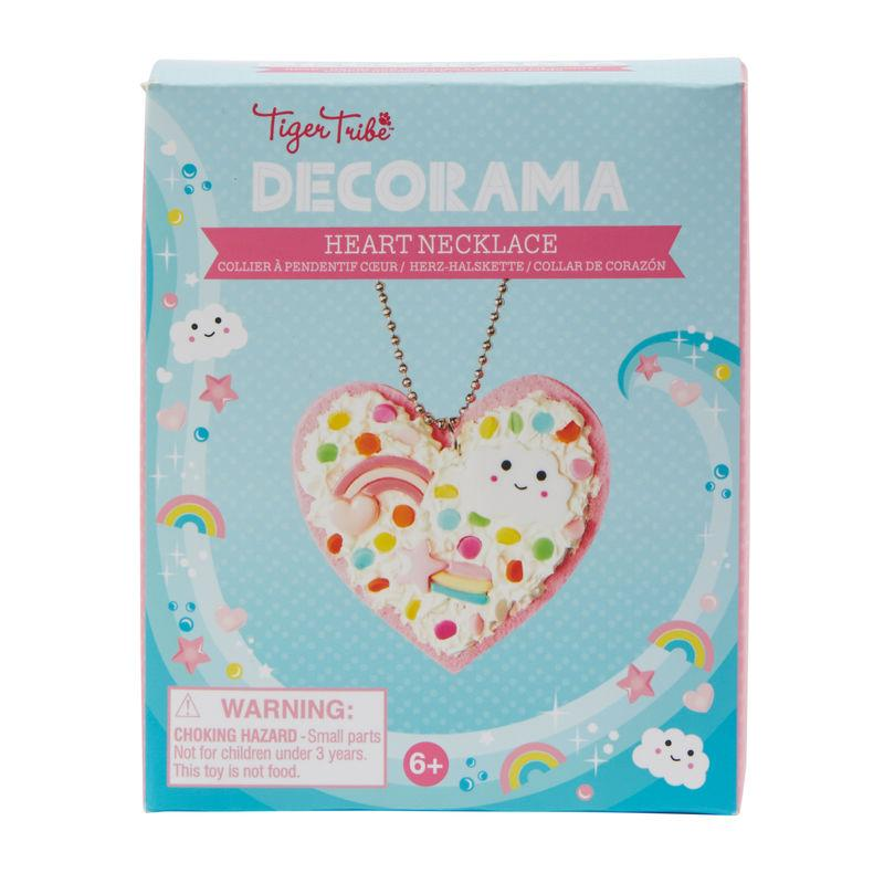 Tiger Tribe Decorama - Heart Necklace
