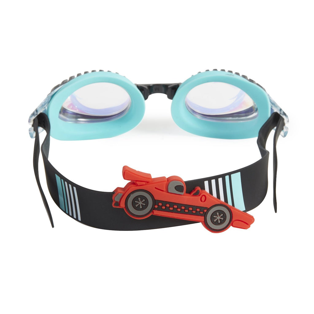 Bling2o Swim Goggles Drag Race - Retro Teal Slider