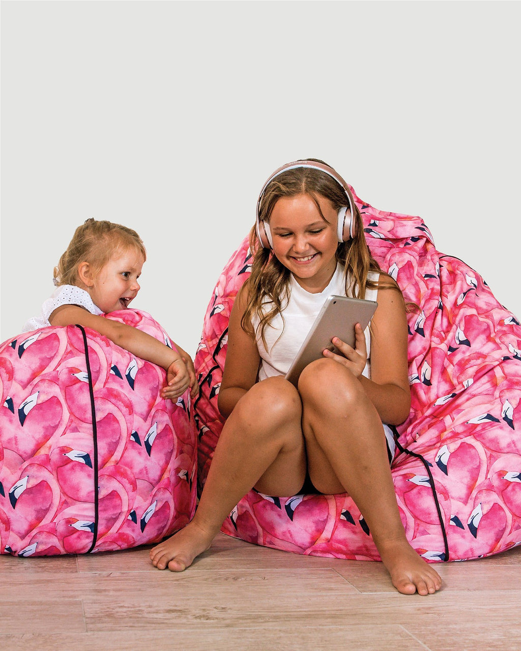Bean Bag Cover - Flamingo - Small