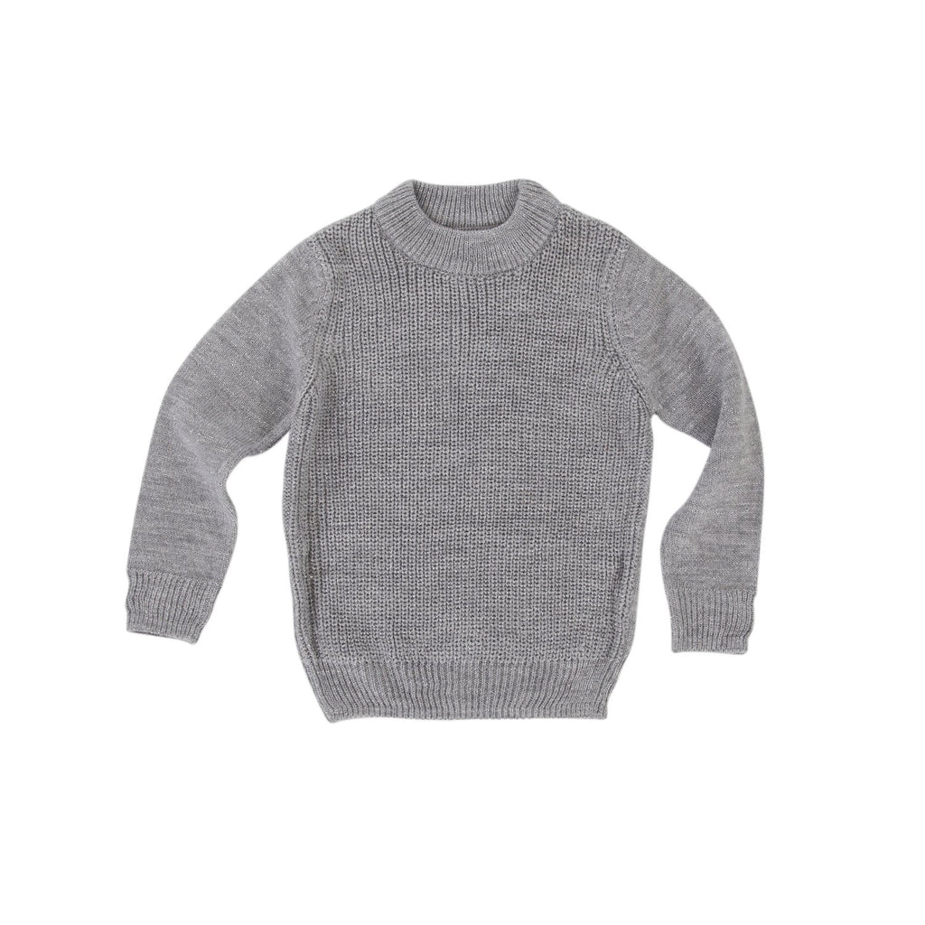Peggy Grace Knit Jumper - Marle Metallic