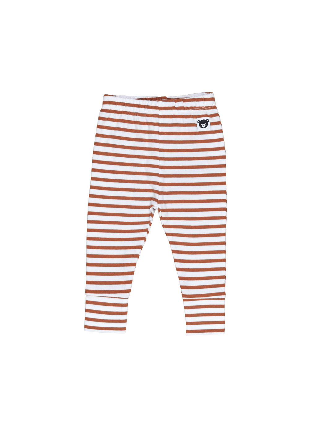 Huxbaby Terracotta Stripe Leggings - HB1821