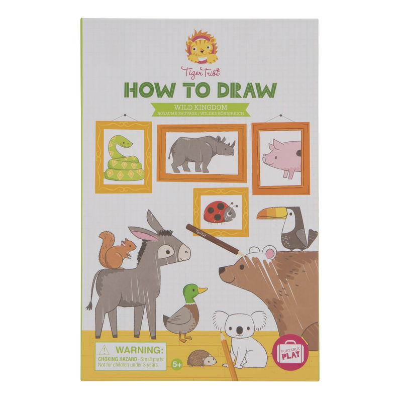 Tiger Tribe How-To-Draw- Wild Kingdom