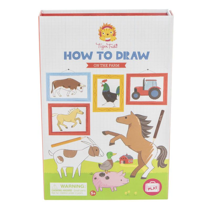 Tiger Tribe How-To-Draw- On The Farm