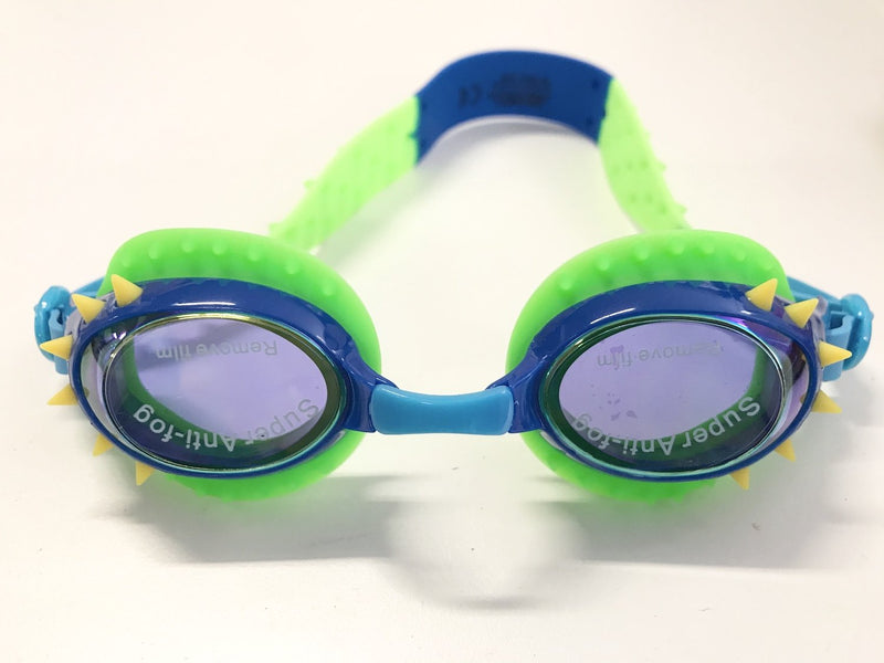 Bling2o Swim Goggles Nelly - Lockness Blue Yellow Spikes