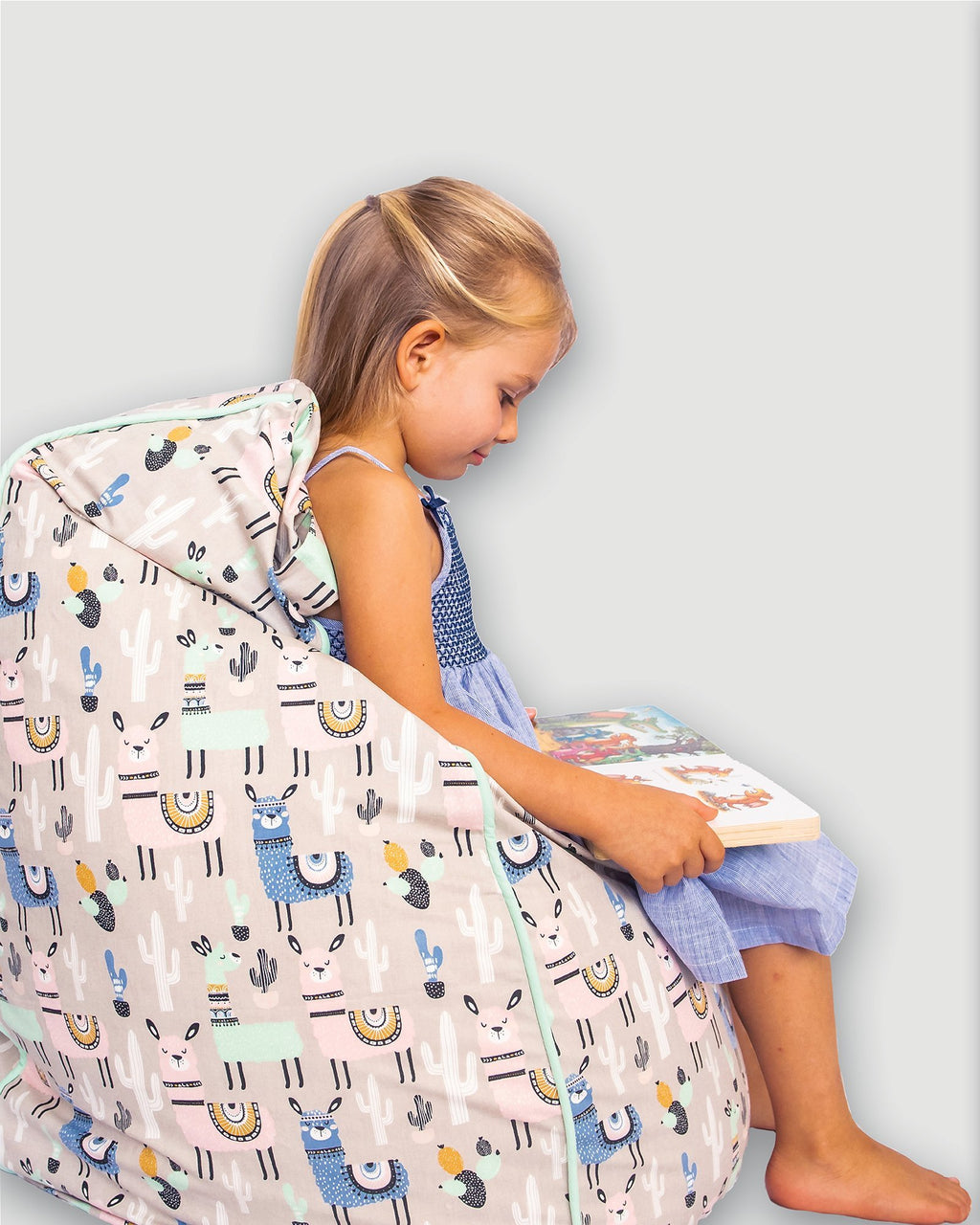 Bean Bag Cover - Llama - Small