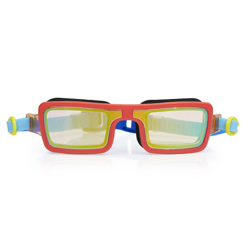 Bling2o Swim Goggles Electric 80'S - Retro Red